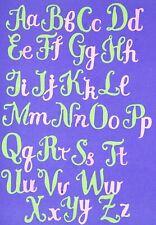 Upper & Lower Case Alphabet Metal Cutting Dies Set, Letters Card making Craft C2