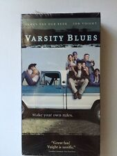 Varsity Blues (VHS Movie) James Van Der Beek, Jon Voight Paul Walker Ron Lester