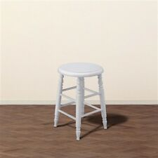 Francfranc H450 Puller de Stool LOW White Benches & Chair Furniture