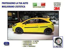 Opel Corsa B tuning Strisce adesive auto gomma salva paraurti esterna sportelli