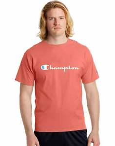 Champion Men's Athletics Classic Jersey Tee, Script Logo
