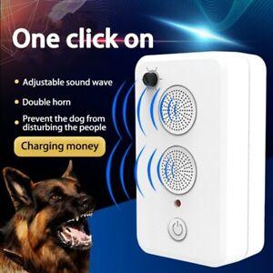 Ultrasonic sound release Dog Repeller Bark Stopper near shop garage home places