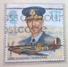 Great Britain stamp - Lord Dowding and Hurricane 17p 1986 - FREE P & P