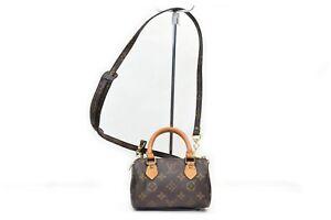 Louis Vuitton Hand Bag M41534 Mini Speedy Browns Monogram 1604068