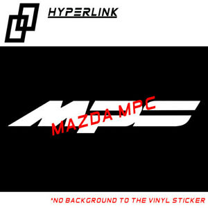 Sticker for Mazda MPS Logo Windshield Window Car Decal Vinyl Sticker