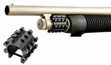 "Mossberg 500 Remington 870 Shotgun 12GA 1"" Tube Picatinny Flashlight/LaserMount"