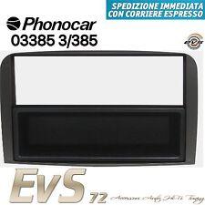 Phonocar 03385 Mascherina Adattatore Autoradio Doppio Din Antracite Alfa GT 07>