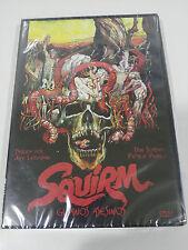 SQUIRM GUSANOS ASESINOS DVD CASTELLANO ENGLISH TERROR JEFF LIEBERMAN NEW NUEVA
