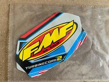 New FMF Turbinecore 2 V2 Exhaust Silencer Decals Stickers Motocross MX - 2 Pack