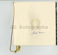 Richard Nixon - 37th U.S. President - Signed Nixon Library Opening Program