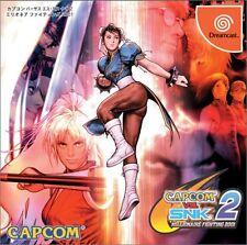 USED CAPCOM vs. SNK 2 MILLIONAIRE FIGHTING 2001  SEGA DREAMCAST JAPANESE IMPORT