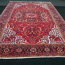 Alter Orient Teppich 420 x 300 cm Perserteppich Beige Rot Old Carpet Rug Tappeto