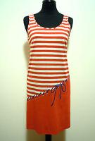 TRIUMPH VINTAGE '80 Damenkleid Baumwolle Cotton Frau Kleid SZ s - 42