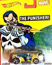 Hot Wheels 2016 1:64 Pop Culture Case C Marvel THE PUNISHER HAULIN' GAS  DJG88