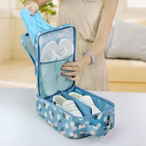 Travel Storage Bags Makeup Bag Case Hanging Pouch Wash Shoes Organizer