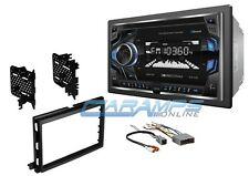 NEW SOUNDSTREAM BLUETOOTH CAR STEREO RADIO W USB/AUX AND DASH KIT & HARNESS