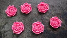 Flowers Flatback Cabochon Qty:6 Deco Diy Roses Diy Kawaii Decoden XLarge 28mm