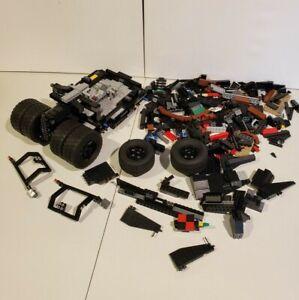 LEGO 76023 DC Comics Batman Super Heroes The Tumbler - Partial Set - Incomplete