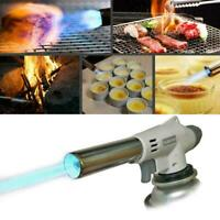 Portable Metal Flame Gun BBQ Heating Ignitions Butane Camping Gas-Torch. C0T7