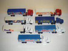 Matchbox 1:64 Diecast SUPER RIGS Semi Trucks/Trailers LOT OF 7
