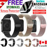 For Apple Watch Band iWatch Series 6 5 4 3 2 1 SE Magnetic Stainless Steel Strap