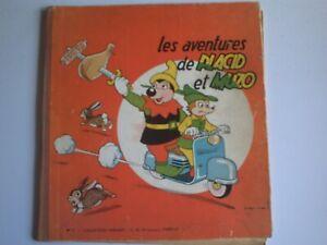 Placid et Muzo reliure N°7, années 50