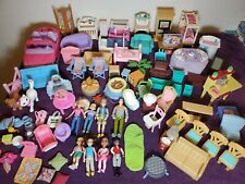 Fisher Price Loving Family Furniture & Accessories & Figures lot of ~85 Pieces