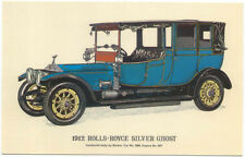 Rolls Royce 1912 Silver Ghost MODERN postcard issued by Collectors Reproductions