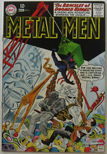 "Metal Men #4 (Oct-Nov 1963, DC), VFN-NM, ""The Bracelet of Doomed Heroes!"""