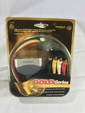 New Radio Shack A/V Extend-A-Jack Extension Gold Plated 6 ft. Nos 15-1997