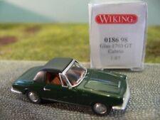 1/87 Wiking Glas 1700 GT Cabrio mit Verdeck dunkelgrün 0186 98