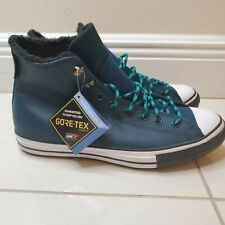 Converse Winter GORE-TEX Chuck Taylor All Star Shoes Men's Sz 10.5 Teal 165934C
