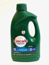 Cascade Complete Gel Dishwasher Detergent Fresh Scent 8x The Power 75 Oz