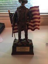John Wayne Flag Statue-the Bradford Exchange