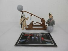 "Vintage Star Wars ROTJ 1984 Ewok Catapult ""Vintage Complete"" w/Logray & Teebo"