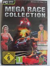 Mega Race 3 Spiele Sammlung - Futuristisches Autorennen in der Zukunft, Speed