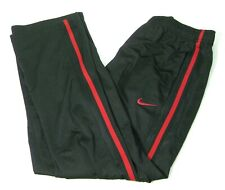 NIKE Mens Black Red Athletic Track Pants Size 34 36 38 40 Running Tennis Fitness