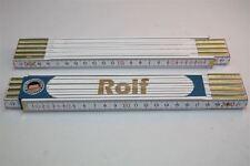 Zollstock mit  NAMEN     ROLF   Lasergravur 2 Meter Handwerkerqualität