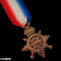 1914-15 Star Medal Full Size Repro for Campaign Service WW1 George V World War