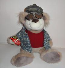 REAL TALKIN BUBBA REDNECK BEAR Talking PLUSH TOY W/ GLASSES & HAT 2003 Mattel