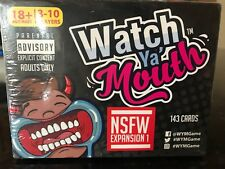 Watch Ya' Mouth Adult Phrase Card Game Expansion 143 Cards Brand New