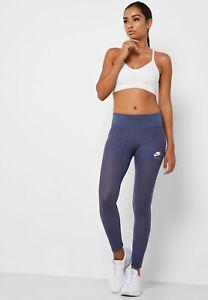 Nike Air Women's 7/8 Mesh Fitness Training Tights  Size Medium  BV3806-557