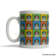 German Wirehaired Pointer Dog Mug - Cartoon Pop-Art Coffee Tea Cup 11oz Ceramic