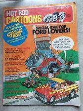 Sept 1974 Hot Rod Cartoons NHRA Racing Drag Race Comic Book Lemmons Cycletoons