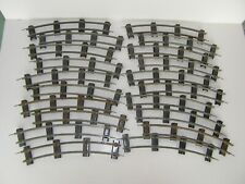 20 Pieces/ Sections=American Flyer S-Gauge Two-Rail Track Curved Used Condition