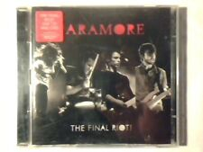 PARAMORE The final riot! cd + dvd COME NUOVO LIKE NEW!!!