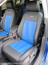 VOLKSWAGEN VW GOLF MK5 BLACK & BLUE SEAT COVERS