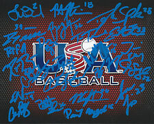 2013 USA Collegiate Baseball Signed Autograh Rodon Bolt Turner RARE COA LOOK!!