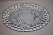 Blue Bubble Oval Platter