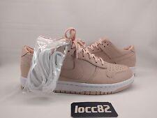 Nike Nikelab Dunk Lux Low sz 9 [857587 800] leather orange white pink